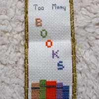The finished bookmark!