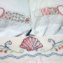 The three rescued pillow cases.