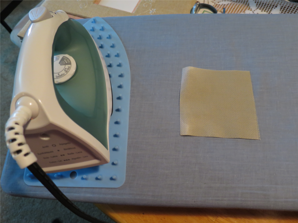 This is my first time using the iron at the apartment!
