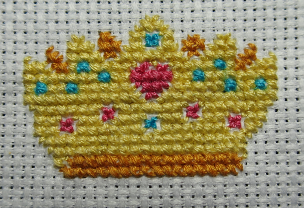 All the stitching finished!