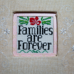 Friday Finish: Families Are Forever