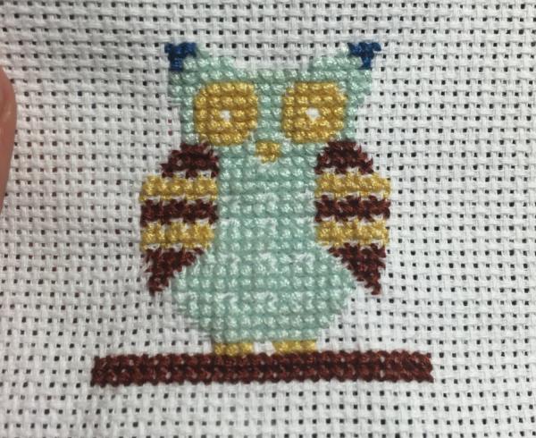 Cross stitch done!